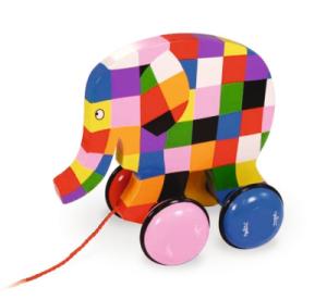 id e de jouet pour enfant n 4 jouet tirer elmer jouet en bois vilac guide du jouet pour. Black Bedroom Furniture Sets. Home Design Ideas