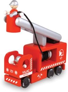 Camion de pompier en bois - Jouet en bois Vilac