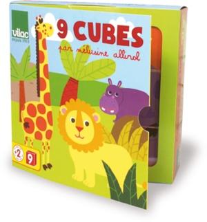 Cubes pour bébé Mélusine Allirol - Jouet premier âge