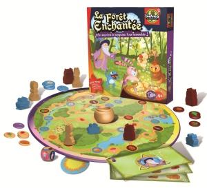 Jeu coopératif pour enfant La Forêt enchantée - Jeu Bioviva, jeu écolo