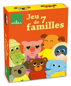 Jeu de 7 familles par Mélusine Allirol - Jeu de société Vilac
