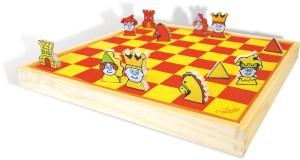Mon premier jeu d'échec - Jeu d'échec pour enfant - Jeu en bois Vilac