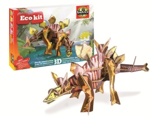 Maquette Stegosaure - Maquette dinosaure en 3D - Jeu Bioviva