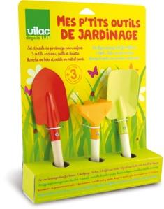 Mes petits outils de jardinage - Jouet d'imitation pour enfant