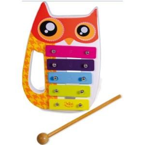 Xylophone pour enfant Chouette - Jouet musical Vilac