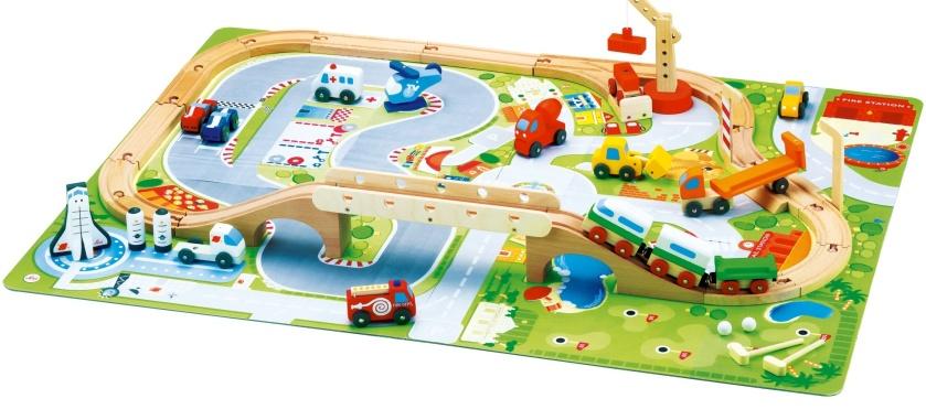 Tapis Circuit Voiture Guide Du Jouet Pour Enfant