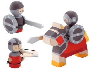 Set de chevaliers en bois - Jouet en bois Sévi