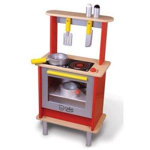 Cuisinière en bois pour enfant - La Cuisine du Marmiton Vilac