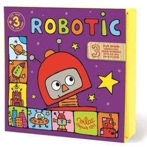 Coffret de jeux en bois Robotic - Jeux en bois Vilac