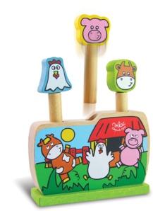 Jouet en bois pour bébé - Pop up de la ferme Vilac