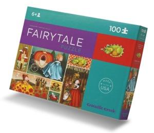 Puzzle Contes de fées et princesses - Puzzle de 100 pièces Crocodile Creek