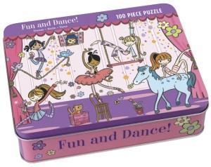 Puzzle danseuse - Puzzle 100 pièces - Puzzle Mudpuppy