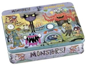 Puzzle Monstres - Puzzle de 100 pièces - Puzzle Mudpuppy