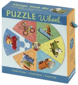 Puzzle véhicules - Puzzle garçon 2 ans et plus - Puzzle Mudpuppy 7 pièces