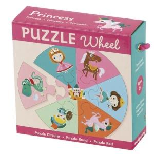 Puzzle princesse de 7 pièces - Puzzle pour fillette de 2 ans et plus. Puzzle Mudpuppy