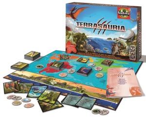 Jeu de société Terrasauria - Bioviva