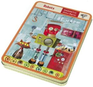 Jeu magnétique et créatif Les Robots - Mudpuppy