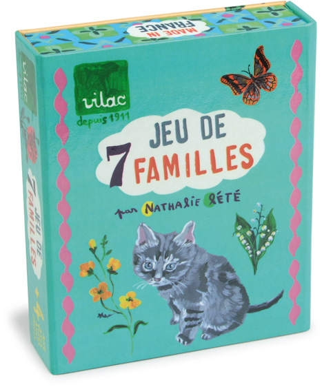 Jeu de 7 familles Nathalie Lété - Jeu pour enfant à partir de 4 ans