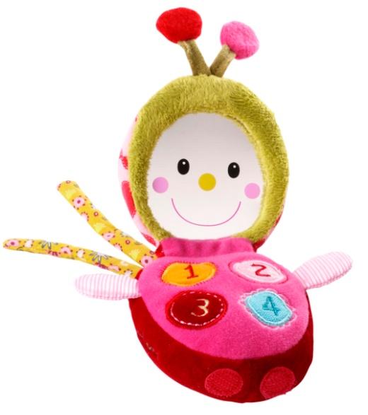 Lizophone, jouet d'éveil en tissu Lilliputiens - A partir de 6 mois