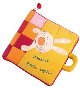 Livre en tissu Bonsoir Petit Lapin - Lilliputiens