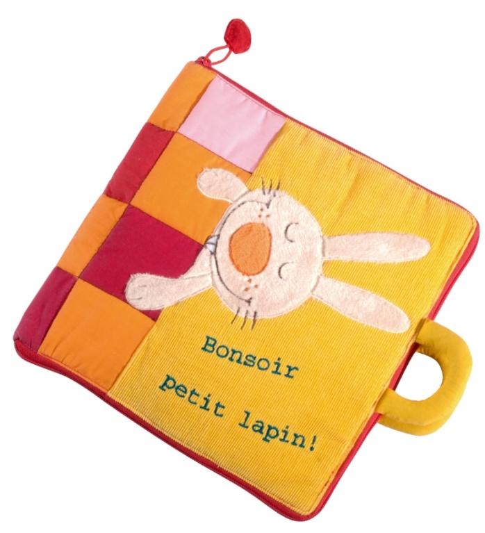 Livre Bonsoir Petit Lapin -Livre en tissu Lilliputiens