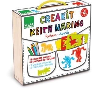 Creakit Keith Haring - Pochoirs