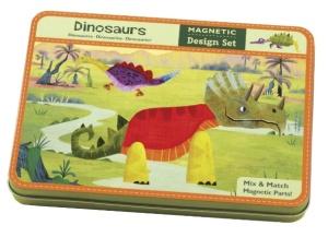 Jeu magnétique Cree tes dinosaures - Mudpuppy