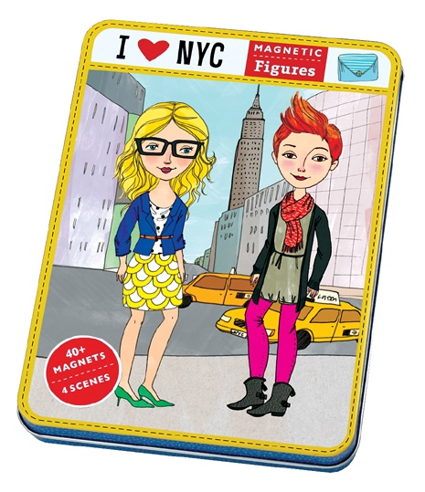 Jeu magnétique et créatif I Love New York - Mudpuppy