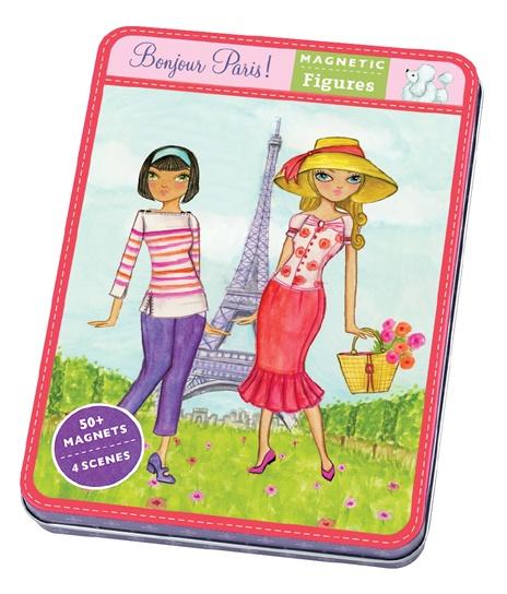 Jeu magnétique et créatif Bonjour Paris - Mudpuppy