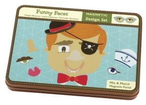 Jeu magnétique et créatif Drôles de Têtes - Mudpuppy