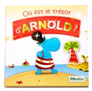 Livre puzzle Où est le trésor d'Arnold - Lilliputiens