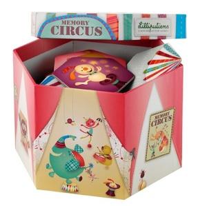 Memory Circus - Jeu en carton Lilliputiens