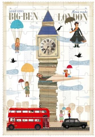Puzzle Big Ben de 54 pièces - Londji