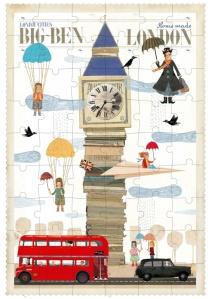 Puzzle Big Ben - Londji