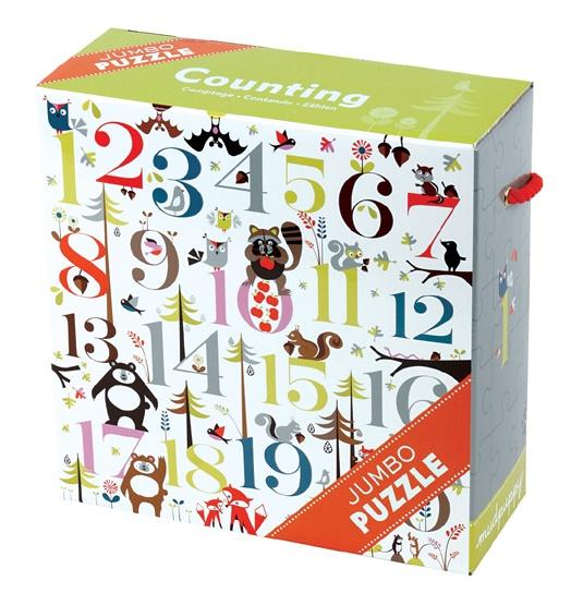 Puzzle Les Chiffres de 25 pièces - Mudpuppy