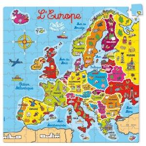 Puzzle Europe de 144 pièces - Vilac