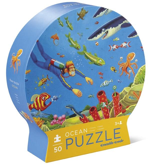 puzzle-ocean-50-pièces-crocodile-creek