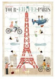Puzzle Tour Eiffel de 54 pièces - Londji