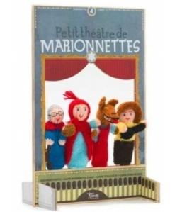 Petit théâtre de marionnettes à doigt Le Petit Chaperon Rouge