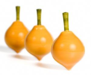Toupie citron - Toupie en bois original Londji