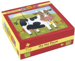 Cubes enfant Animaux de la ferme - Mudpuppy