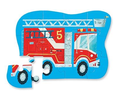 puzzle-camion-de-pompier-12-pièces-crocodile-creek1