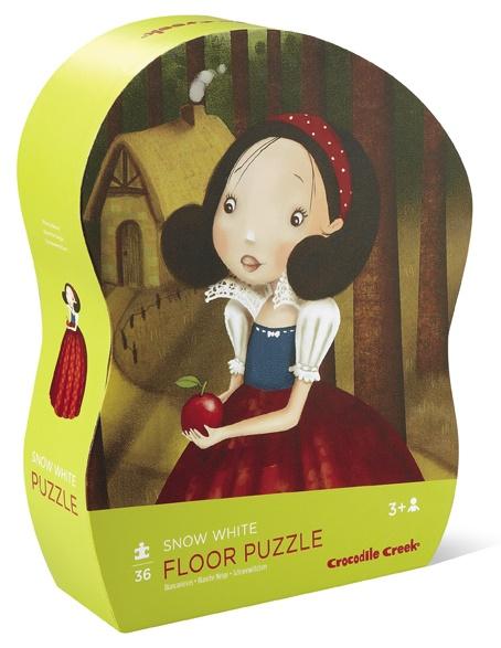 Puzzle Blanche Neige de 36 pièces - Crocodile Creek