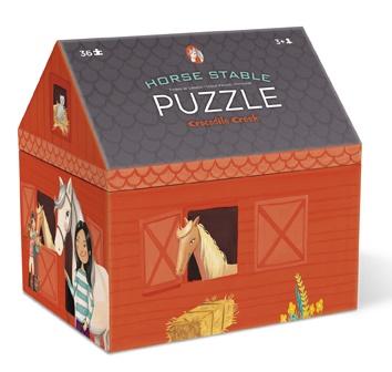 Puzzle Chevaux - 36 pièces - Crocodile Creek