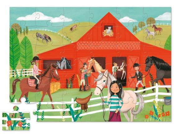 puzzle-chevaux-36-pièces-crocodile-creek1