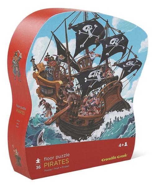 Puzzle Pirate de 36 pièces - Crocodile Creek