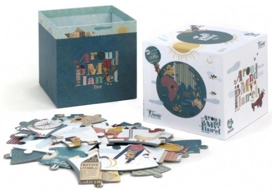 Puzzle Autour de ma Planète -52 pièces - Puzzle Londji