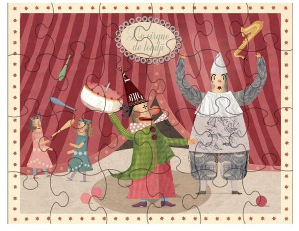 Puzzle Drôle de Clown - Puzzle 24 pièces - Londji