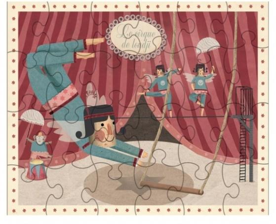 Puzzle Les équilibristes - 24 pièces - Londji