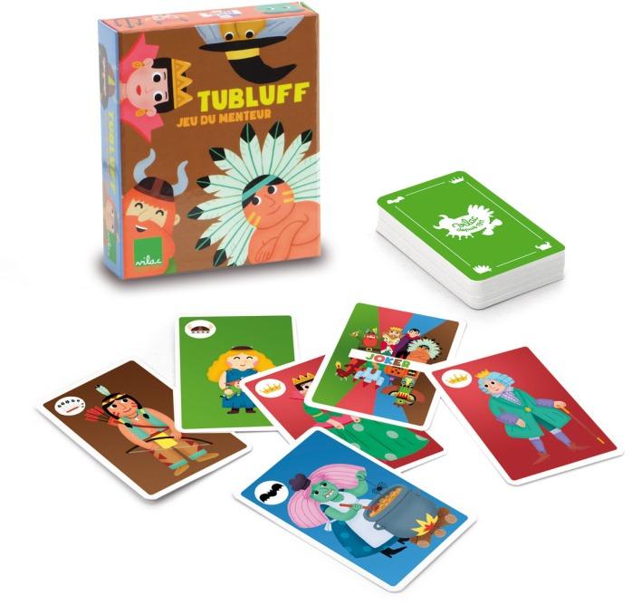 Jeu de cartes Tubluff, jeu du menteur pour les petits - Vilac